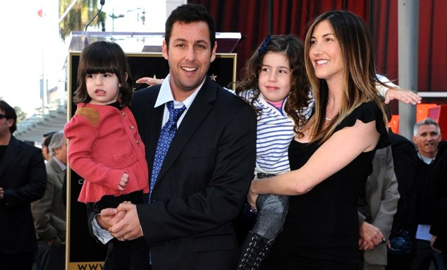 Adam Sandler Living a Buoyant Life Out of the Movies with ...